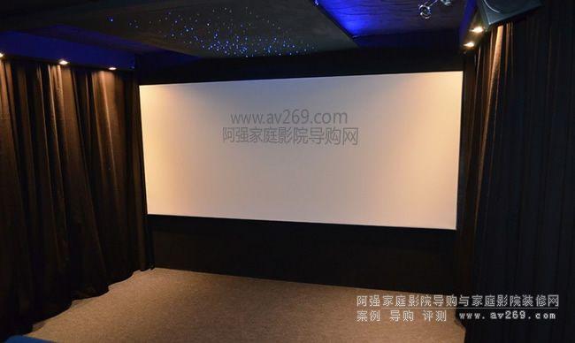 新秀组合 Teufel音响和松下HZ900C投影机配合下的私人影院系统