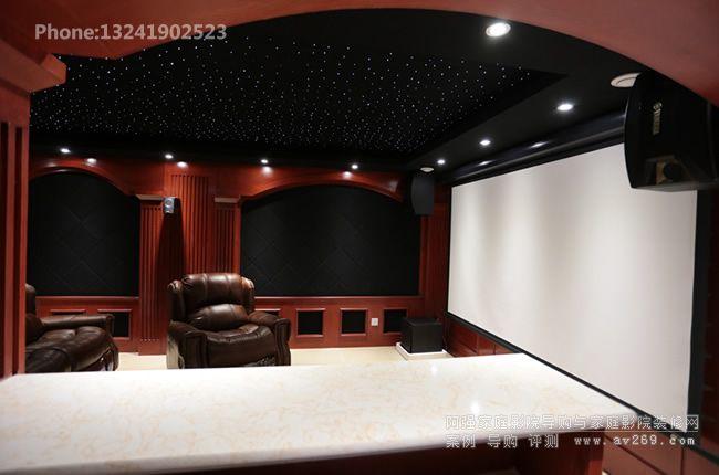 MK音响组建的专业家庭影院系统