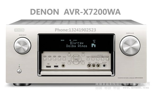 DENON AVR-X7200WA天龙功放介绍
