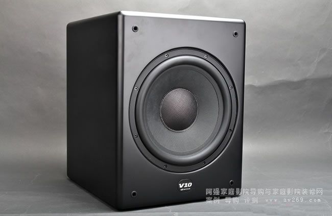 新炮推荐M&K Sound V10主动式超低音炮