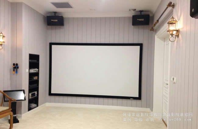 简单舒适的家庭影院案例 7.1多声道和卡拉OK系统组建的影音空间