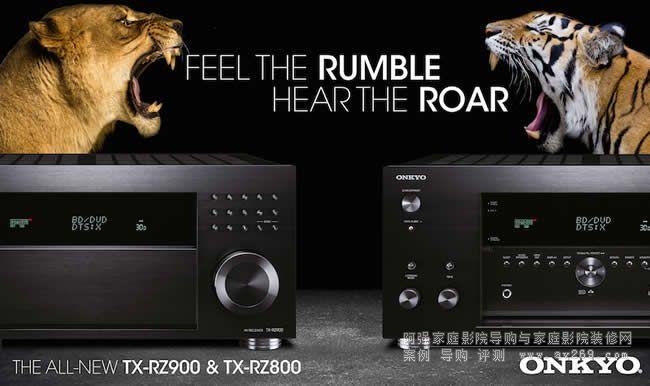 安桥全新功放TX-RZ800机型发布 7.2多声道支持DTX:X和杜比全景声