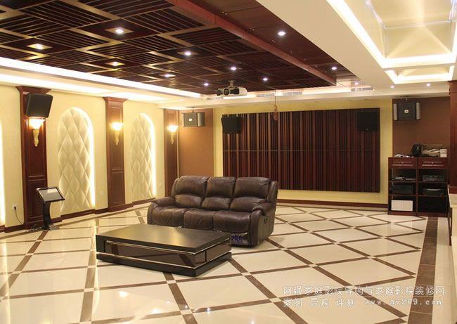 家庭影院装修工程案例