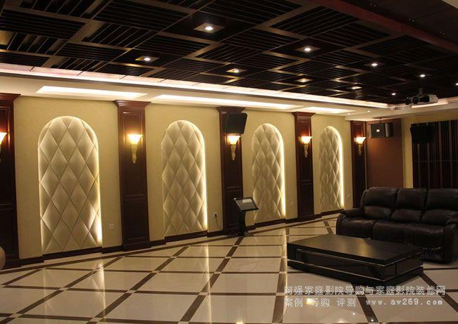 欧式家庭影院装修风格欣赏