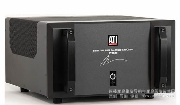 推新ATI推出新款AT6000系后级功放 超猛450W功率