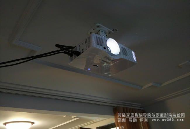 奥图码HEF936投影机安装案例