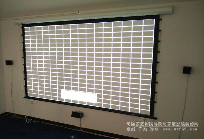 奥图码投影机调试画面