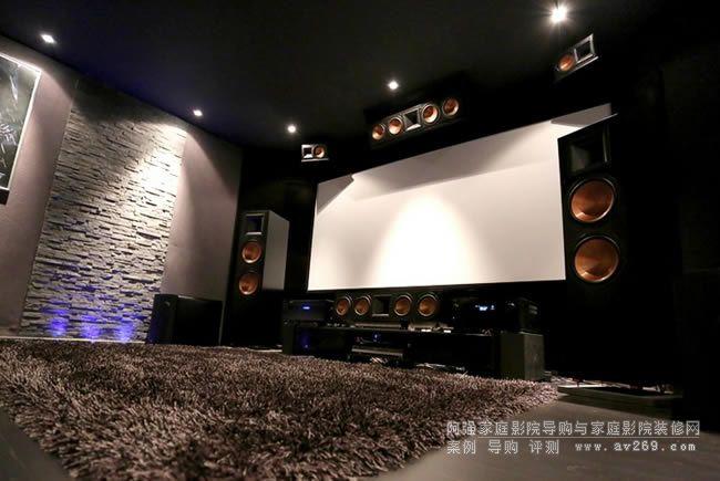 首例采用美国杰士系列音箱组建的Auro 3D全景声影院案例