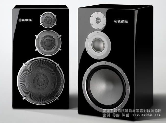 雅马哈发布NS-5000全新三单元音箱