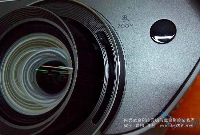 明基W3000投影机镜头