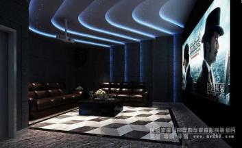 微影院及影吧空间设计要点之房间混响时间控制及处理方法