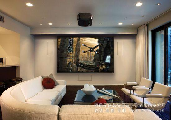 小客厅变大影院:隐形音响将成为家庭影院发展的主流