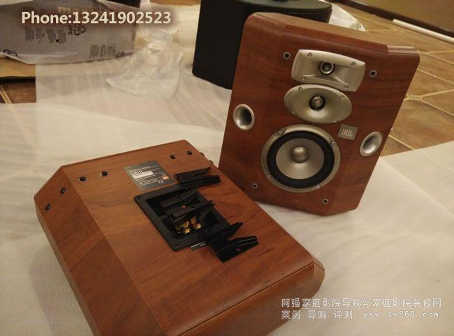 美国JBL音箱L810环绕音箱安装现场