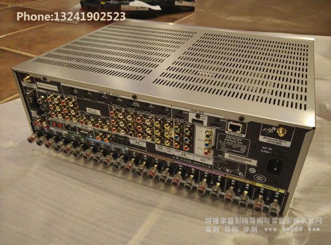 功能强大,接口丰富的天龙X5200W功放