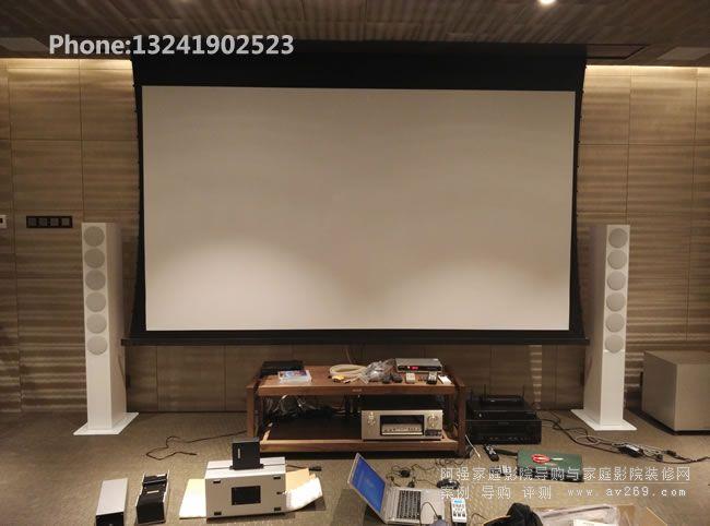 来自德国的REVOX音响组建的家庭影院系统 夏普Z480000A+天龙X4200W