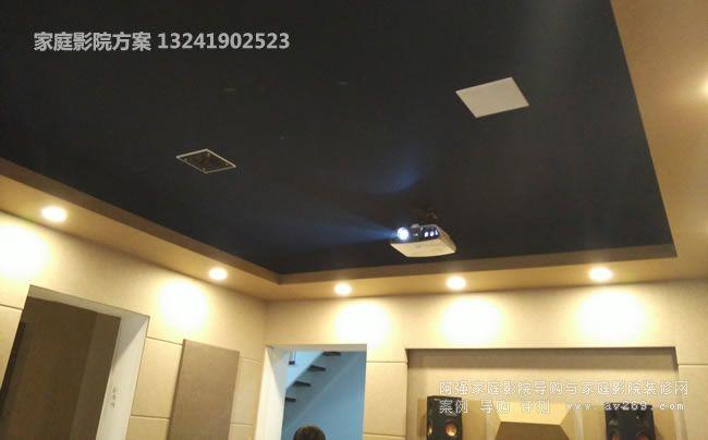 明基投影机H9030和KEF CI160QS音箱