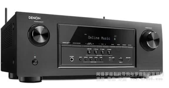 Denon天龙推出两款全新AV功放AVR-S720和AVR-S920,作为S系列的全新机型,支持4k视频和配备蓝牙/WIFI无线接入播放的功能,7.2声道的最新DTS:X和Dolby Atmos环绕声解码系统,支持5.1.2 Dolby Atmos杜比全景声模式。配备有Audyssey MultEQ扬声器校正系统和丰富的DSP音场模式,多组HDMI输入支持最新的HDMI 2.