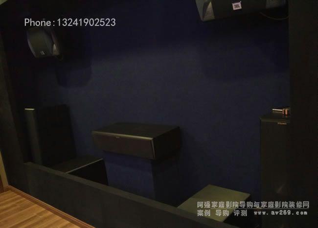 杰士音箱组建的7.2.4杜比全景声影院