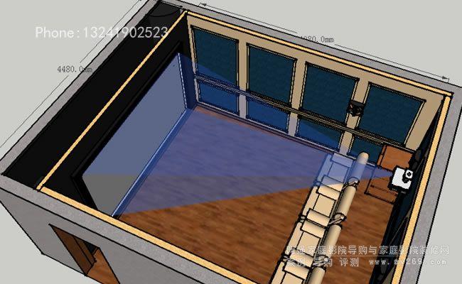 家庭影院设计规划图