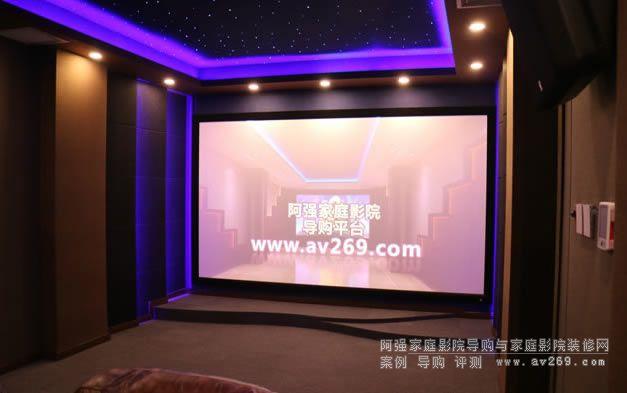 4K超高清 JBL极品音箱组建的杜比全景声家庭影院案例欣赏