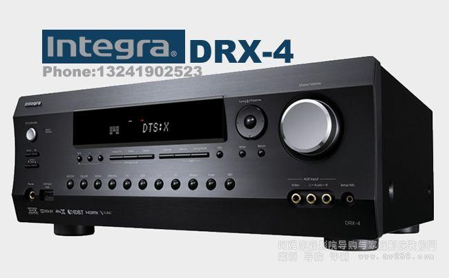 Integra 英桥功放 DRX4 7.2声道功放介绍