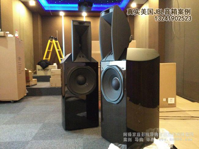 JBL Array1400音箱开箱