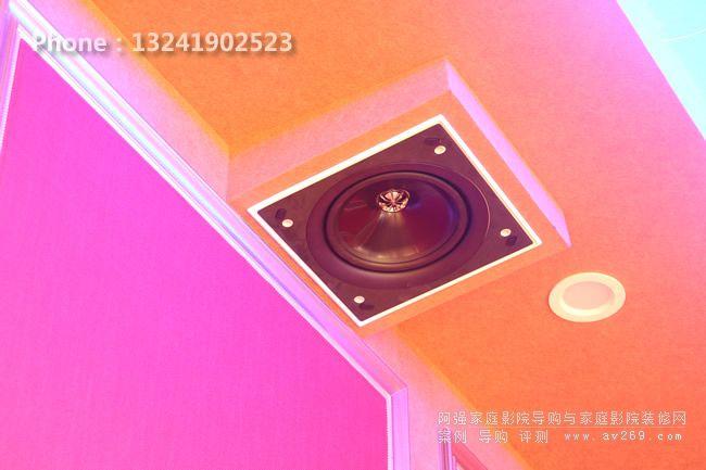KEF嵌入式音箱 KEF CI160QS应用案例