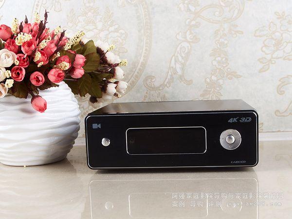 开博尔K9新品4K蓝光媒体播放机评测放送