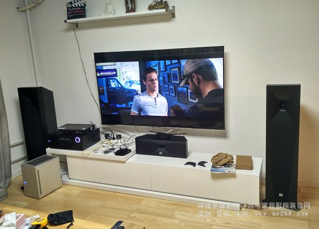 JBL Studio5系列音箱组建的客厅影院系列