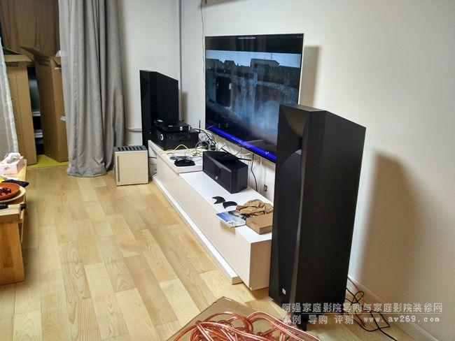 jbl音箱组建的家庭影院系统