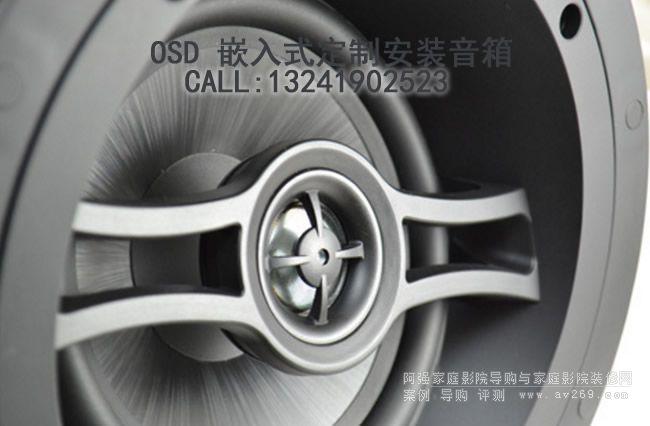 OSD音箱 OSD Audio R62A 斜面嵌入式音箱