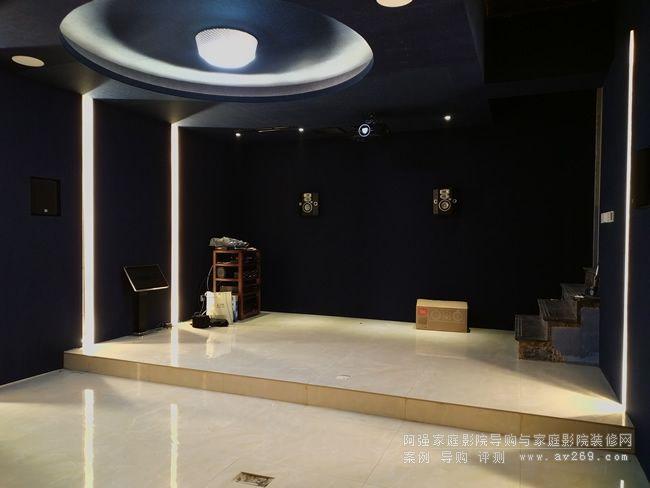 杜比全景声7.2.2家庭影院装修设计案例