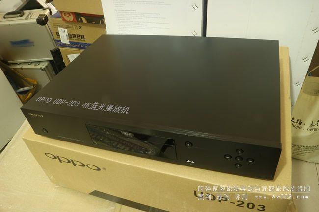 OPPO UDP-203蓝光4K UHD播放机上市开箱