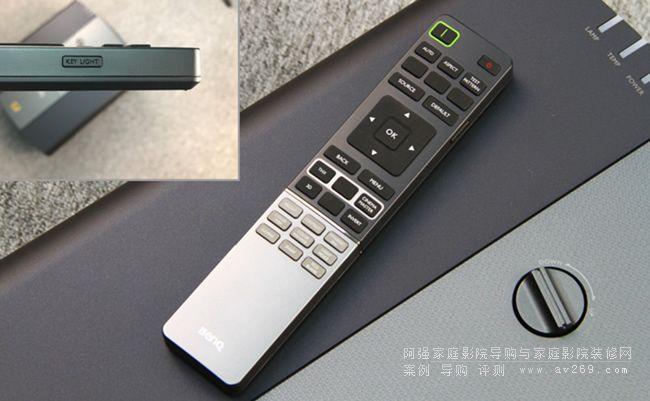 明基W11000投影机遥控器