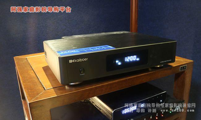 开博尔Q10 Plus 4K蓝光硬盘网络播放机 Q20