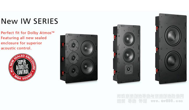 M&K Sound之MK音箱IW-300 IW950 IS28S和IW150II