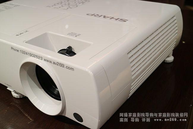 夏普z50000a和夏普fz490a投影机真机曝光