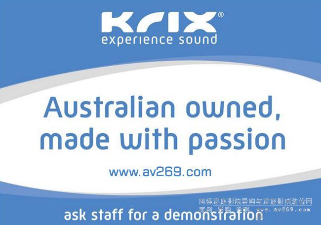 Krix 凯瑞斯专注于商业音响领域的传奇品牌