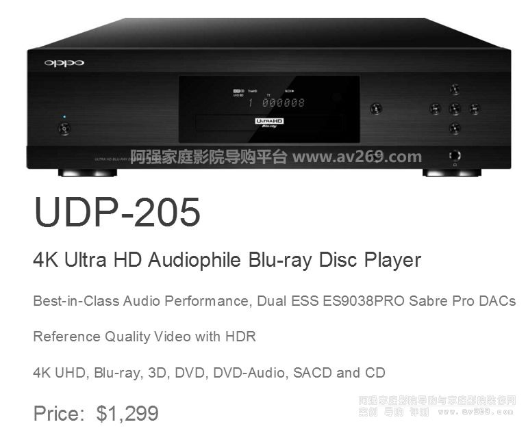 OPPO UDP203