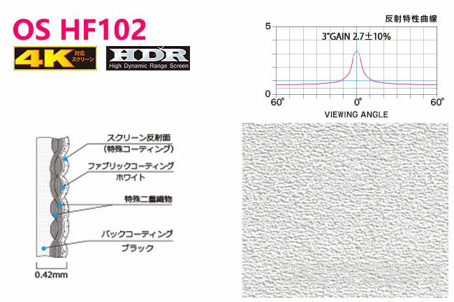 HDR幕布 OS HF102