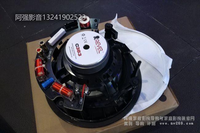 锐威C383嵌入式音箱