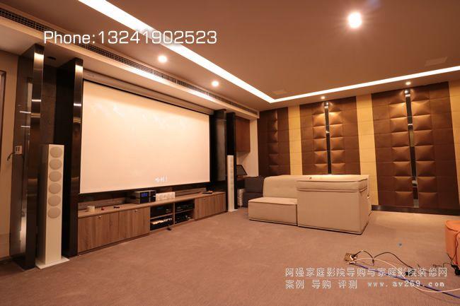 18年优山美地别墅私人影院案例之Revox7.1系统+索尼HW68投影机