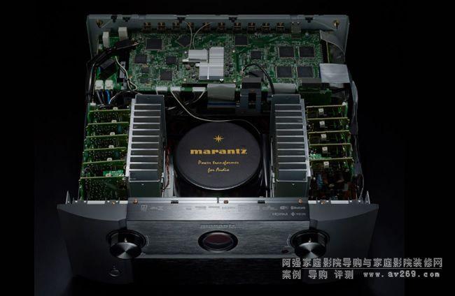 最新的HDMI连接功能;兼容HDCP 2.2 共有8个HDMI输入,包括一个位于前面板以便快速连接,SR8012具有高级视频部分,在每个输入都支持最新的HDMI规格,包括支持4K超高清60Hz视频、4:4:4纯色子采样、高动态范围(HDR)和21:9视频、3D和BT.2020以及Dolby Vision直通,将来通过固件更新能支持新的HDR广播格式HLG (Hybrid Log Gamma)直通。 用于4K超高清版权保护内容的HDCP 2.