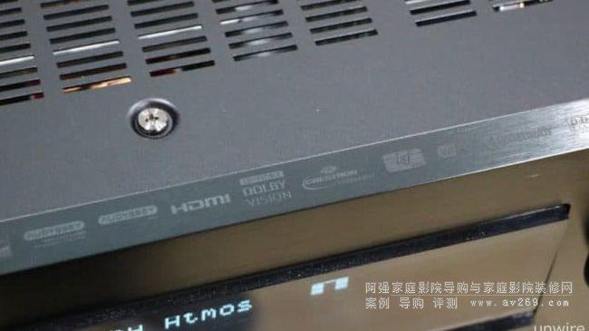 天龙功放X8500H音箱摆位