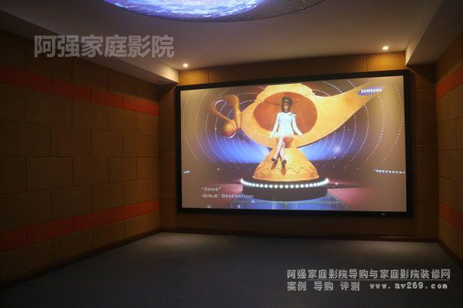丽讯HP1601F投影画面