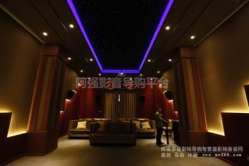 经典私人影院案例回顾 高级别豪华家庭影院案例视频及图文欣赏