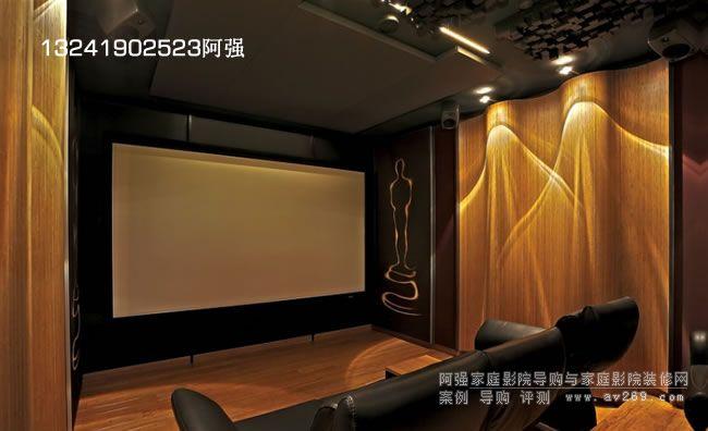 海外专业家庭影院案例欣赏 JVC超高清投影主动式4K影院