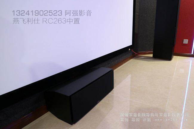 燕飞利仕R263中置音箱
