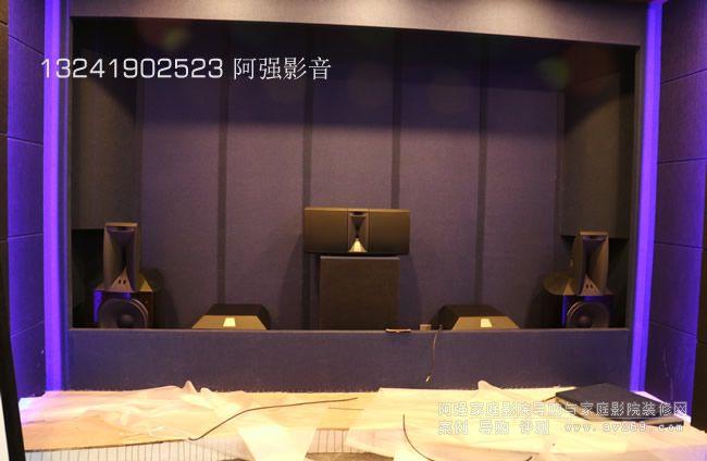 JBl Array专业音箱中的家庭影院案例