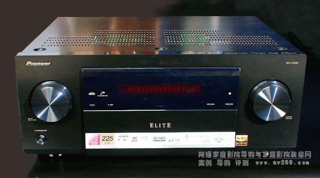 先锋LX502功放 新品评测 7.2声道音乐电影均衡而出彩